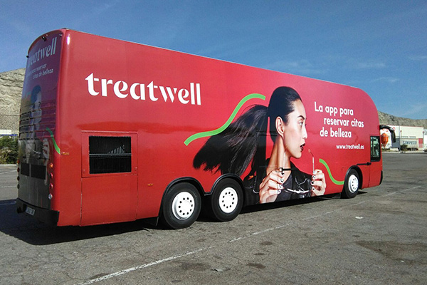 Treatwell Beauty Bus